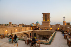 Rooftops come to life again in Yazd