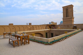 The beautiful rooftops in the historic city of Yazd, Iran, December 11, 2020.