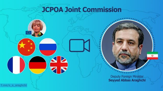 Joint Commission of JCPOA to be held through video conference