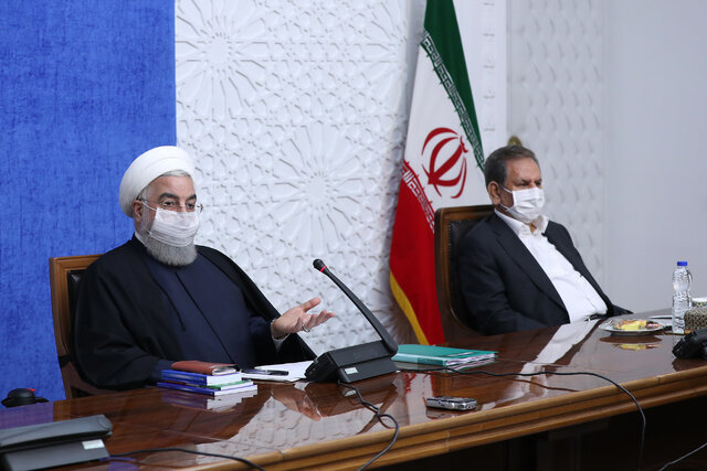During economic war, reducing livelihood problems, providing basic goods a priority for gov't: President Rouhani