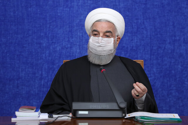 Zionists, Americans only ones who enjoy chaos, war, insecurity in region: President Rouhani