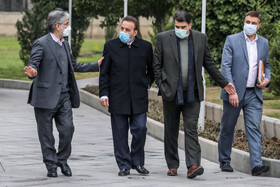 On the sidelines of the session of Cabinet Ministers, Tehran, Iran, December 16, 2020.