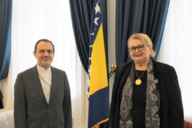 Bosnia stresses on expanding trade cooperation with Iran
