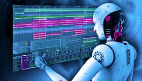 Application of artificial intelligence technology in music