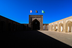 Jameh Mosque of Gonabad is seen in the photo, Razavi Khorasan province, Iran, January 3, 2021.