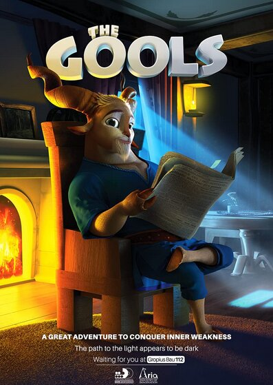 "Iranian animation ""The Gools"" to go on silver screen in China"