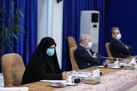 The meeting of the Executive Council of Information Technology, Tehran, Iran, January 4, 2021.