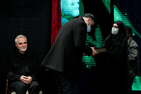 The unveiling ceremony of the statue of Lieutenant General Martyr Qasem Soleimani is held in Tehran, Iran, January 9, 2021.