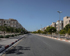 Inside of the Nobonyad Town, Kish Island, Iran, March 7, 2021.