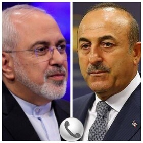 Iranian, Turkish Foreign Ministers hold phone talks