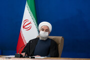 Iran's entire nuclear activities peaceful, for non-military purposes: President Rouhani
