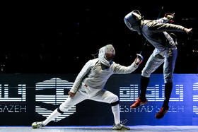 Iran's pro fencing league