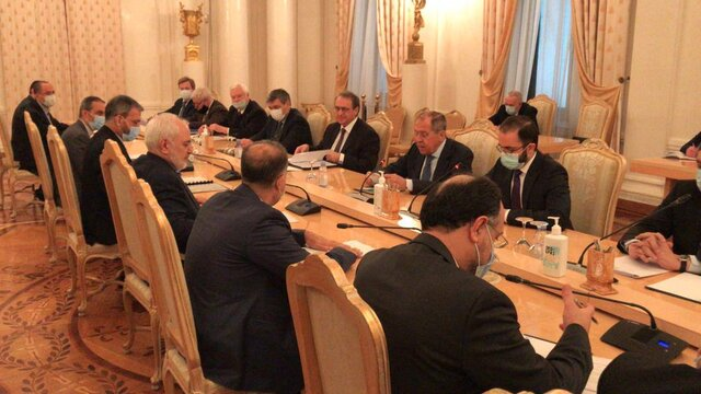 Iranian, Russian Foreign Ministers meet in Moscow