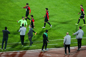 The football match between Persepolis Tehran FC and Machine Sazi Tabriz FC, Tehran, Iran, January 30, 2021.