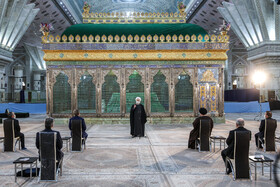 President, cabinet members renew allegiance with ideals of Imam Khomeini