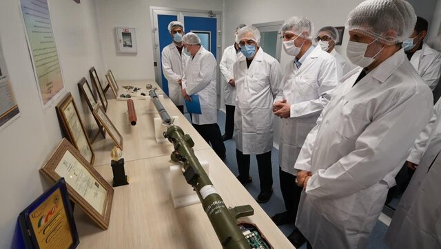Iran inaugurates production line of man-portable missiles
