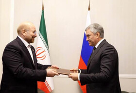 Ghalibaf delivers message of Iran's Supreme Leader to Russian government