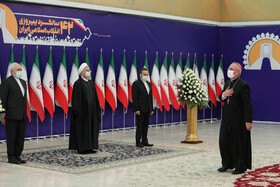 Ambassadors of foreign countries in Tehran meet with Iranian President