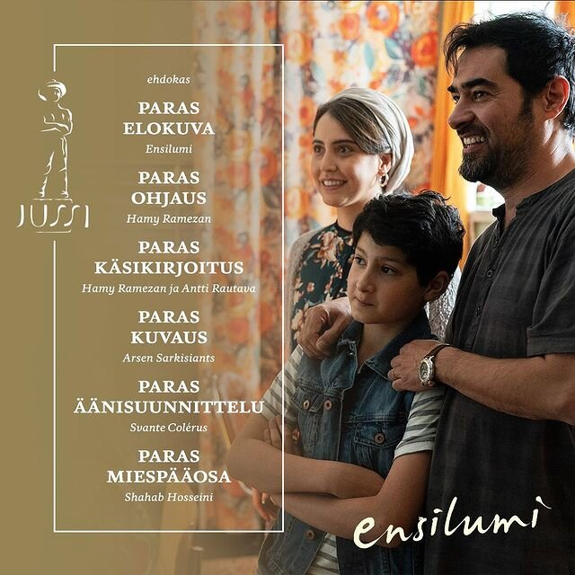 Shahab Hosseini nominated for Best Actor at Jussi Awards