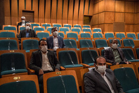 The 50th anniversary of the Ramsar Convention on Wetlands and World Wetlands Day are marked during a ceremony in Tehran, Iran, February 16, 2021.