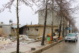 Damages of the 5.6-magnitude earthquake in Sisakht, Kohgiluyeh and Boyer-Ahmad Province, Iran, February 18, 2021.