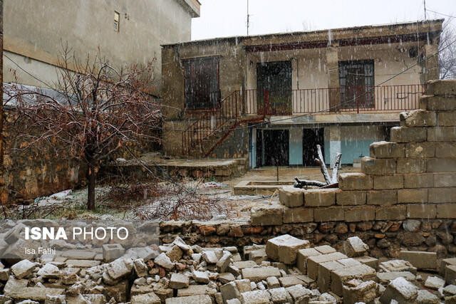 Damages of earthquake in Sisakht, Iran