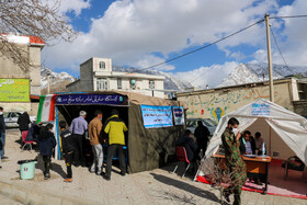 A week after the 5.6-magnitude earthquake in Sisakht city, Kohgiluyeh and Boyer-Ahmad Province, Iran, February 23, 2021.