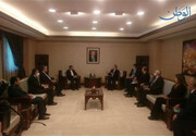Iranian Foreign Ministry spokesman meets with Syrian FM
