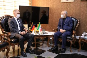 German ambassador to Tehran meets with AEOI chief