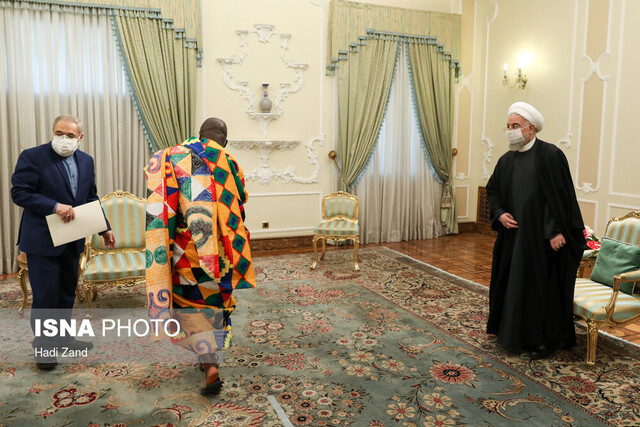 New ambassadors present credentials to President Rouhani