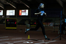 Women's indoor track and field championship in Tehran