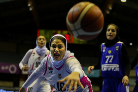 Women pro basketball league / Third-place play-off match held in Tehran