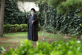 Iran's Supreme Leader Ayatollah Ali Khamenei delivers a speech on the occasion of the National Week of Natural Resources, Tehran, Iran, March 5, 2021.
