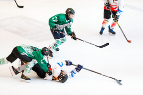 The final of the first women's ice hockey championship, Tehran, Iran, March 9, 2021.