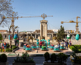 Imam Khomeini Square during the Nowruz holidays, Tehran, Iran, March 31, 2021.