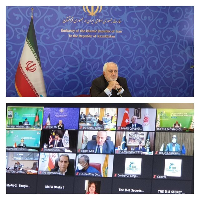 Unleashing blessings of solidarity, cooperation among nations one of the valuable lessons of Covid-19 pandemic: Zarif