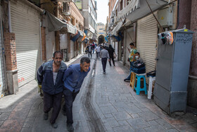 Business closures during the fourth wave of the coronavirus, Tehran, Iran, April 10, 2021.