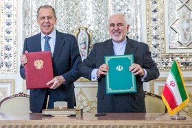 Russian, Iranian FMs hold meeting in Tehran