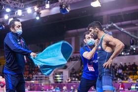 Iran claims title at Asian Wrestling Championships