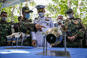 Unveiling ceremony of the achievements and defense products of Iran's Army Ground Forces, Tehran, Iran, April 25, 2021.