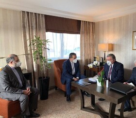 Iran, Russia hold bilateral meeting in Vienna