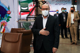 Hossein Dehghan, Iran's former Defense Minister, enters the headquarters of the Interior Ministry to register for the 13th presidential election, Tehran, Iran, May 11, 2021.