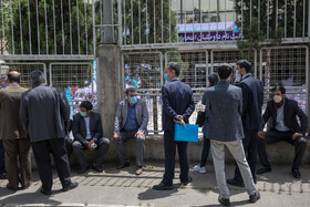 The registration of presidential candidates on the second day, Tehran, Iran, May 12, 2021.