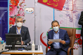 Iran's First Vice-President Es'haq Jahangiri signs up for the presidential election, Tehran, Iran, May 15, 2021.