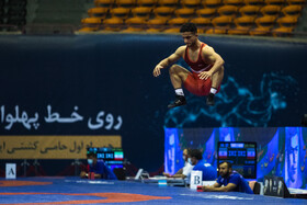 The 41st edition of Takhti Cup's freestyle wrestling international competitions, Tehran, Iran, May 20, 2021.