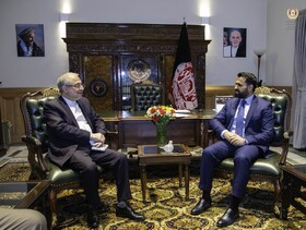 Kabul stresses on importance of Iran's role in advancing Afghan peace process