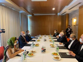 Iranian, Afghan Foreign Ministers hold talks in Antalya
