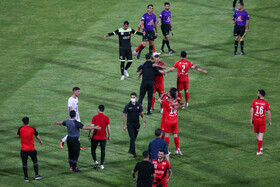 The Super Cup match is played between Persepolis FC and Tractor Sazi Tabriz FC, Tehran, Iran, June 20, 2021. The match was one-nil to Persepolis.