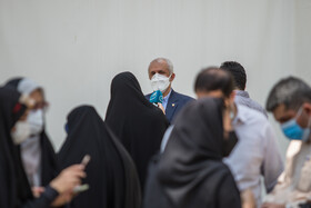 On the sidelines of the meeting of Cabinet Ministers, Tehran, Iran, June 30, 2021.