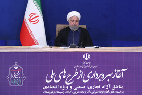 Free trade, economic zones play important role in economy, employment: President Rouhani